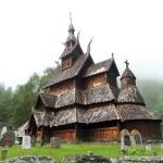 Eglise en bois debout - Borgund - Norvège