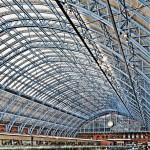 Gare de St Pancras - Londres - Grande Bretagne