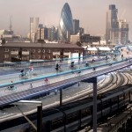 Skycycle-Londres, © Norman Foster